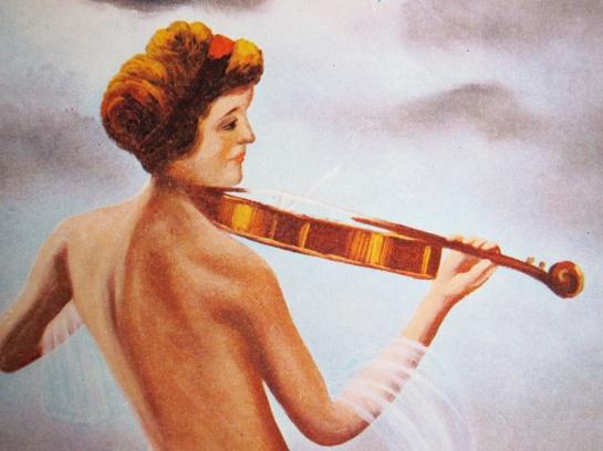 Der Kitsch_Geige