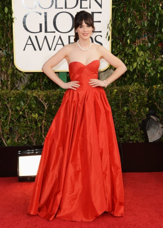 Golden-Globes-2013-Zooey-Deschanel-600x841