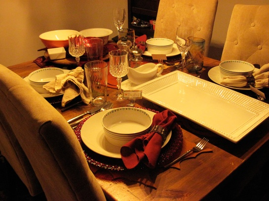 Die festliche Tafel - the festive table