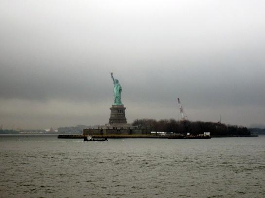 Ein nebliger Tag für die Freiheit - A foggy day for liberty