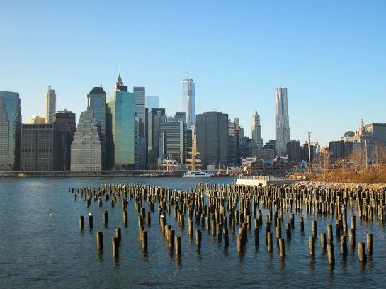 Blick zum Freedom Tower - View to Freedom Tower