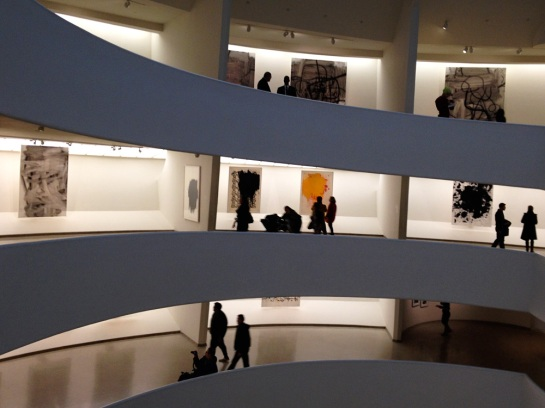 Im Guggenheim: Christopher Wool