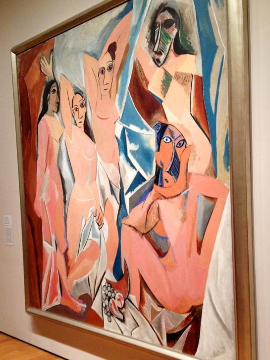 At MoMA: Pablo Picasso: Les Desmoiselles d'Avignon