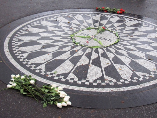 Strawberry Fields: John Lennon Memorial, 9.12.