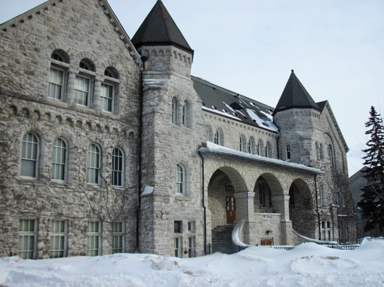 Ontario Hall on Campus