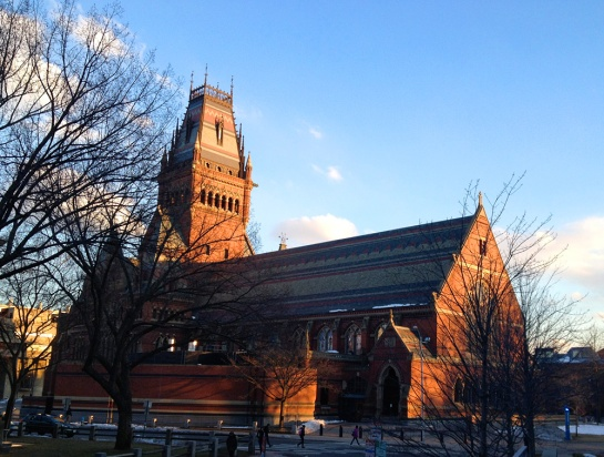 Harvard: Annenberg Hall