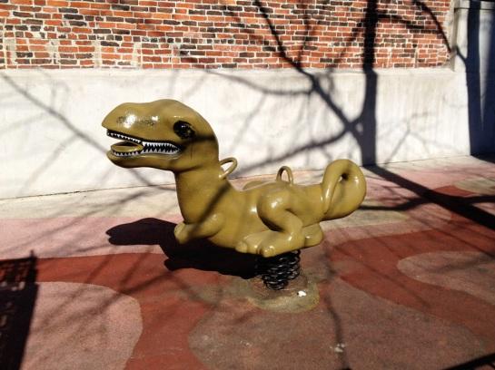 Schaukeldino - Swing Dinosaur